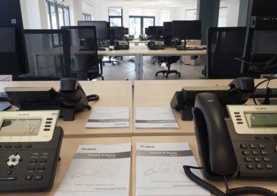 Instalación de Telefonia voz IP