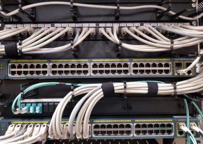 Instalación de cableado y redes de datos Sytel Telecomunicaciones
