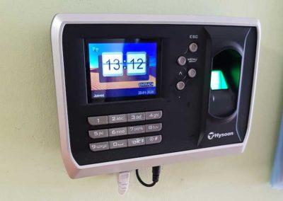 Sistema de control de acceso Sytel Telecomunicaciones